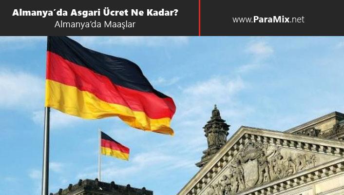 Almanya'da asgari ücret