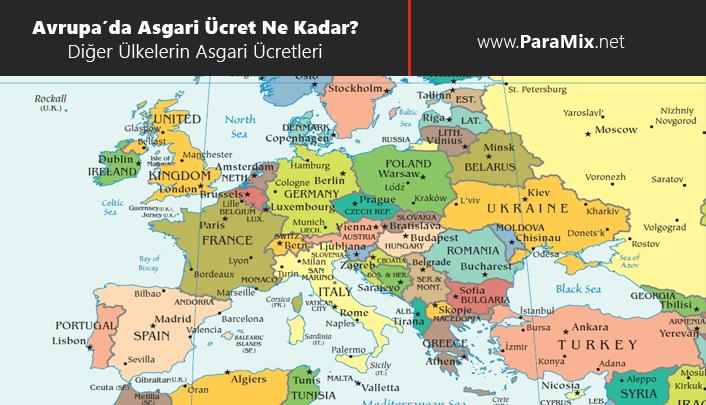 Avrupa'da asgari ücret