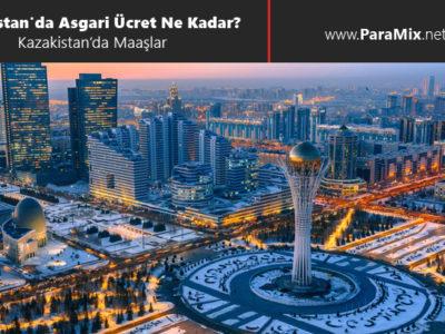 Kazakistan'da asgari ücret