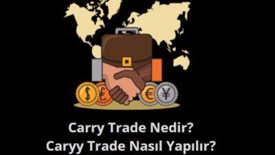 carry trade nedir